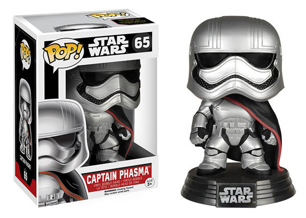 Captain Phasma 65 **Vaulted** Pop Head