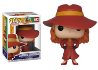 Carmen Sandiego (Where in the World is Carmen Sandiego?) 662  [Damaged: 7/10]
