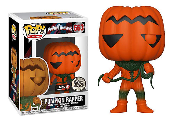 Pumpkin Rapper (Power Rangers) 663 - Gamestop Exclusive