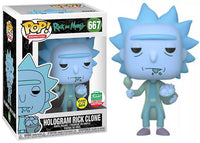 > Hologram Rick Clone (Bucket of Chicken, Glow in the Dark, Rick & Morty) 667 - Funko Shop Exclusive