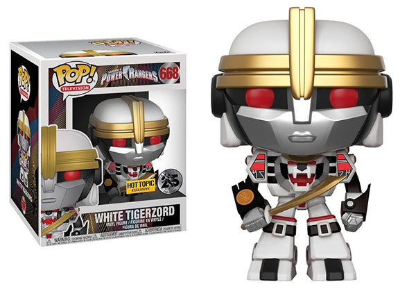 White Tigerzord (6-inch, Power Rangers) 668 - Hot Topic Exclusive  [Damaged: 7/10]