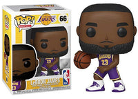 Lebron James (Home Jersey, Los Angeles Lakers, NBA) 66  [Damaged: 7/10]