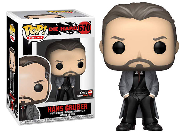 Hans Gruber (Hands in Pockets, Die Hard) 670 - GameStop Exclusive
