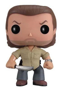 Out-Of-Box Rick Grimes (Prison Yard, The Walking Dead) 67 **Vaulted**  [Condition: 7.5/10]