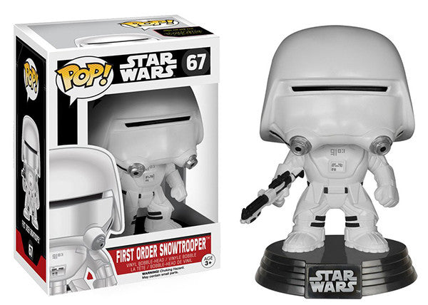 First Order Snowtrooper 67 **Vaulted** Pop Head