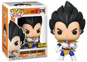 Vegeta (Over 9000!, Dragonball Z) 676 - Hot Topic Exclusive  [Damaged: 7.5/10]