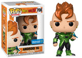 Android 16 (Metallic, Dragonball Z) 708 - Walmart Exclusive  [Damaged: 7/10]