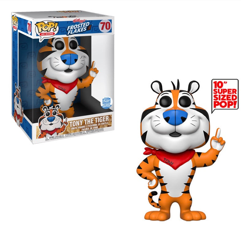 Tony the Tiger (10-Inch, Ad Icons ) 70  [Damaged: 5/10]