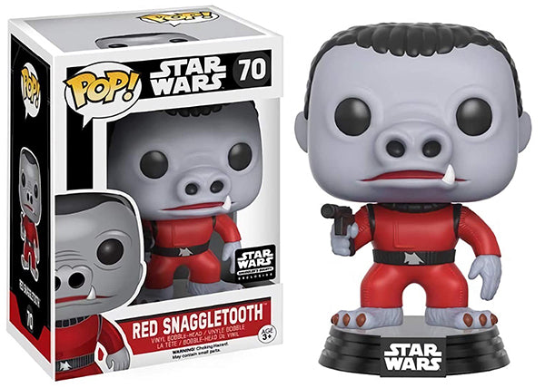 Red Snaggletooth 70 - Smuggler's Bounty Exclusive  [Damaged: 7.5/10]