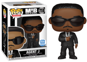 Agent J (Men in Black) 718 - Funko Shop Exclusive  [Damaged: 7/10]