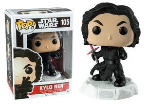 Kylo Ren (Unmasked, Action Pose) 105  [Damaged: 6.5/10]