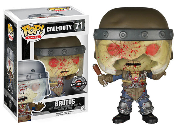 Brutus (Call of Duty) 71 - Gamestop Exclusive  [Damaged: 7/10] Pop Head