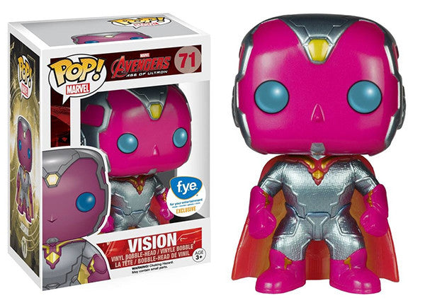 Vision (Metallic, Avengers 2) 71 - Fye Exclusive Pop Head