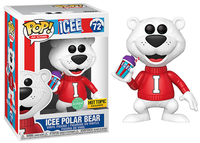 Icee Polar Bear (Scented, Ad Icons) 72 - Hot Topic Exclusive