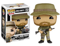 Capt. John Price (Call of Duty) 72 - Gamestop Exclusive  [Damaged: 7/10] Pop Head