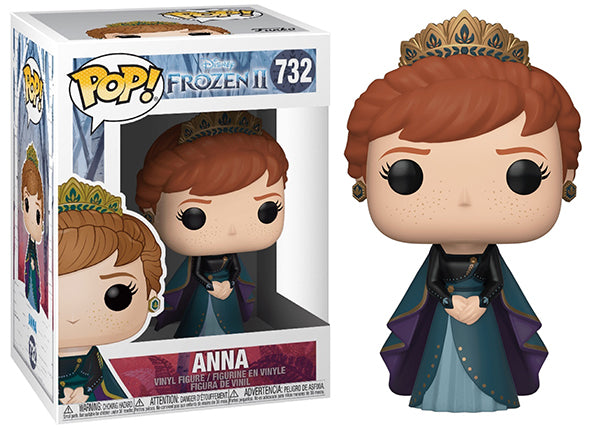 Anna (Epilogue Dress, Frozen 2) 732  [Damaged: 7.5/10]
