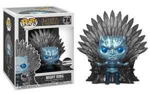 Night King (Iron Throne , Metallic, 6-Inch, Game of Thrones) 74 - 2015 HBO Shop Exclusive  [Damaged: 6/10]