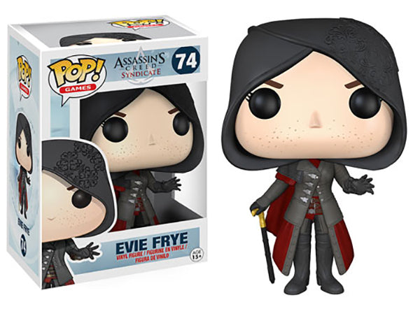 Evie Frye (Assassin's Creed) 74  [Damaged: 7/10] Pop Head