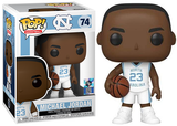 Michael Jordan (UNC White, NBA) 74  [Damaged: 6.5/10]