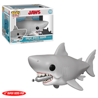 Great White Shark  (w/ Diving Tank, 6