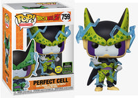 Perfect Cell (Glow in the Dark, Dragonball Z) 759 - 2020 Spring Convention Exclusive  [Damaged: 7.5/10]