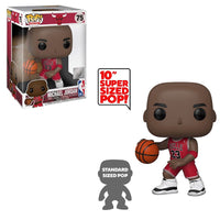 Michael Jordan (Red Away Jersey, 10-Inch, NBA) 75 [Damaged: 7.5/10]