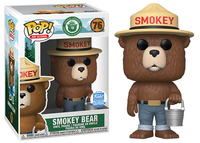 > Smokey Bear w/Bucket (Ad Icons) 76 - Funko Shop Exclusive