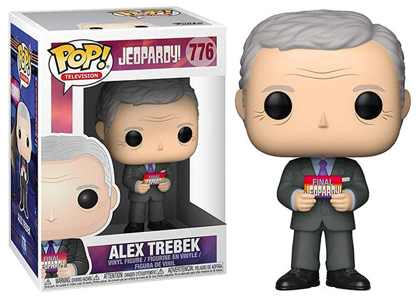 Alex Trebek (Jeopardy) 776  [Damaged: 7.5/10]