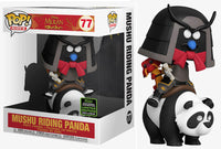 Mushu Riding Panda (Rides, Mulan) 77 - 2020 Spring Convention Exclusive [Damaged: 7.5/10]
