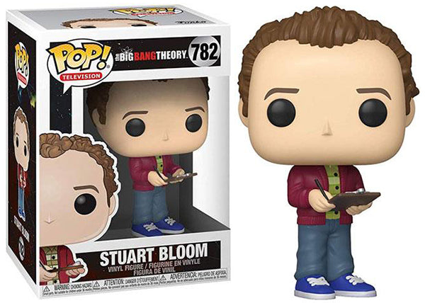 Stuart Bloom (big Bang Theory) 782  [damaged: 7/10]