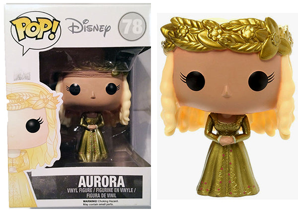 Aurora (Metallic, Maleficent Movie) 78 [Damaged: 7/10]