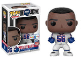 Lawrence Taylor (Color Rush, New York Giants, NFL) 79 - Toys R Us Exclusive  **Missing Sticker**