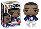 Lawrence Taylor (New York Giants, NFL) 79 [Damaged: 7.5/10]