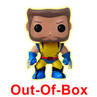 Out-Of-Box Wolverine (Glow in the Dark, Unmasked) 40 - Toytastik Exclusive