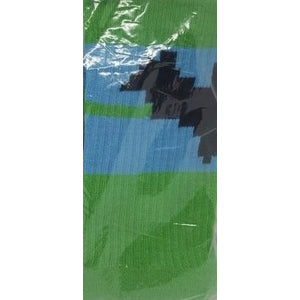 Socks - 8-Bit Batman Socks (Green & Blue, GameStop Exclusive)