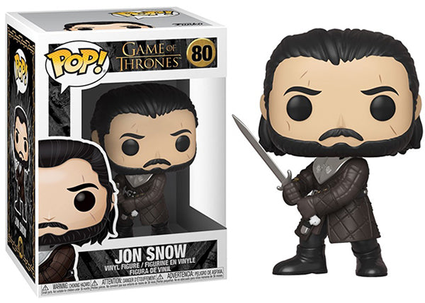 Jon Snow (Season 8, Game of Thrones) 80 [Damaged: 7/10]