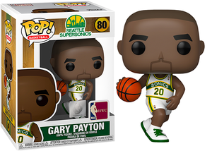 Gary Payton (Home Jersey, Seattle Supersonics, NBA) 80  [Damaged: 7.5/10]