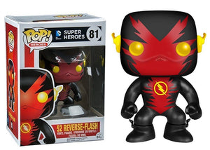 52 Reverse Flash 81 - Fugitive Toys Exclusive Pop Head