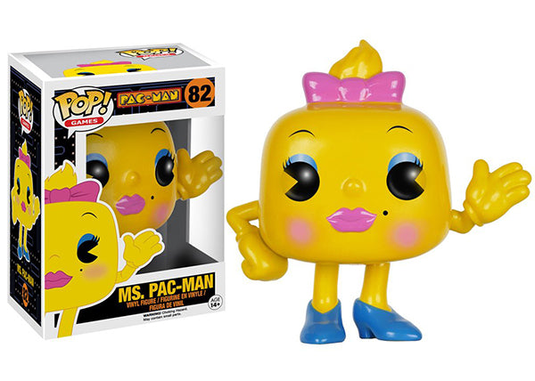 Ms. Pac-Man 82  [Damaged: 7/10]