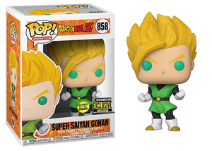 Super Saiyan Gohan (Glow, Dragonball Z) 858 - Entertainment Exclusive  [Damaged: 7.5/10]