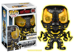 Yellowjacket (Glow in the Dark, Ant-Man) 86 - Amazon Exclusive Pop Head