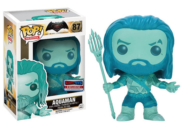 Aquaman (Ocean, Batman vs Superman) 87 - Simply Toys Exclusive  [Damaged: 7/10]