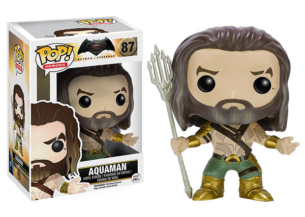 Aquaman (Batman vs Superman) 87  [Damaged: 7.5/10]