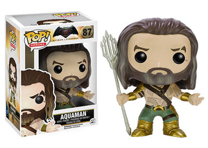 Aquaman (Batman vs Superman) 87   [Damaged: 7/10]