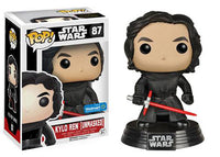 Kylo Ren (Unmasked) 87 - Walmart Exclusive Pop Head
