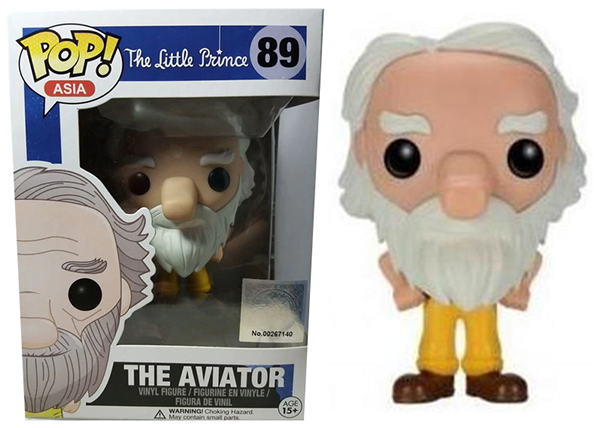 The Aviator (The Little Prince, Asia) 89  [Damaged: 7.5/10]