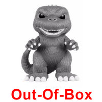Out-Of-Box Godzilla (6-Inch, Black & White) 239 - Toy Tokyo Exclusive