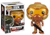 Doom Marine (Gold, Doom) 90 - Gamestop Exclusive Pop Head