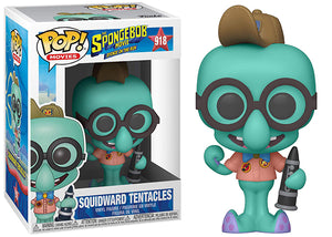 Squidward Tentacles (Spongebob Movie) 918  [Damaged: 7.5/10]