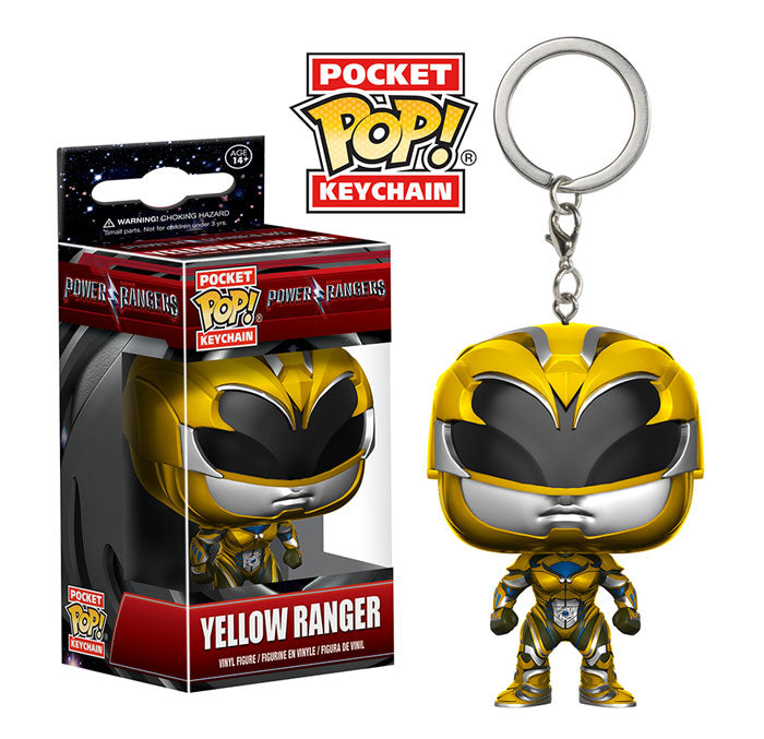 Pocket Pop Keychain Yellow Ranger (Power Rangers)